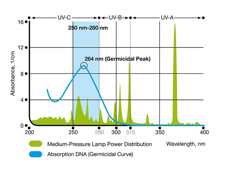 Đèn UV trung áp